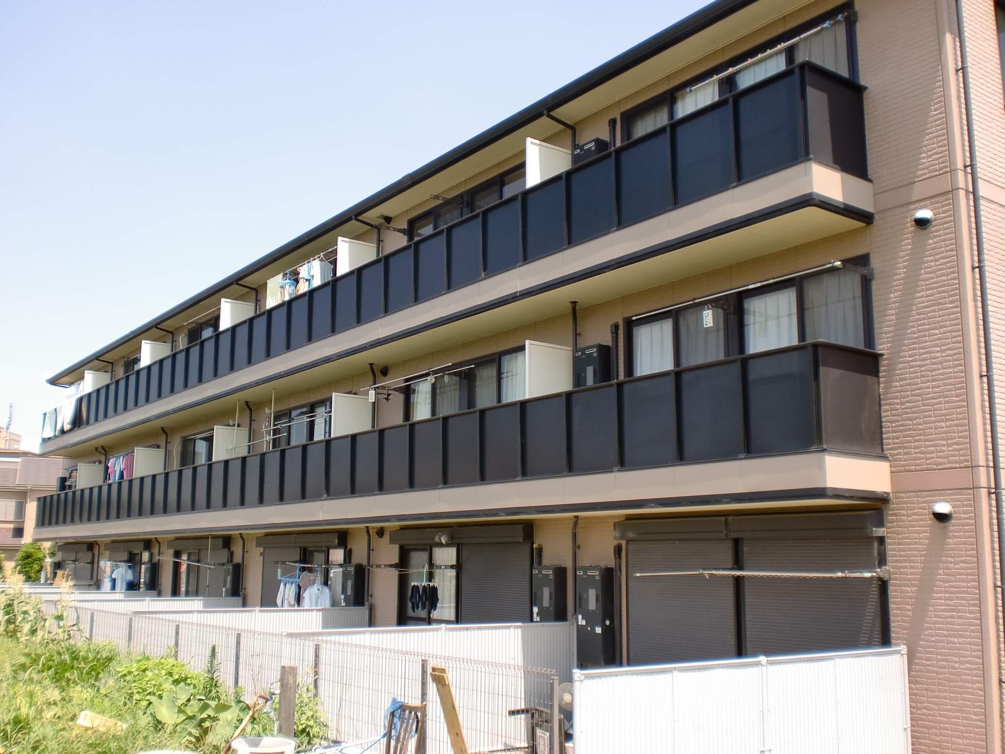 大阪府堺市中区、深井駅徒歩14分の築13年 3階建の賃貸アパート