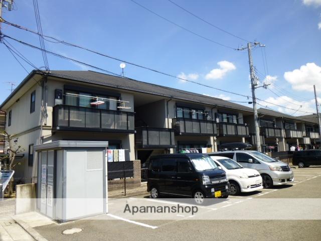 大阪府堺市東区、初芝駅徒歩18分の築16年 2階建の賃貸アパート