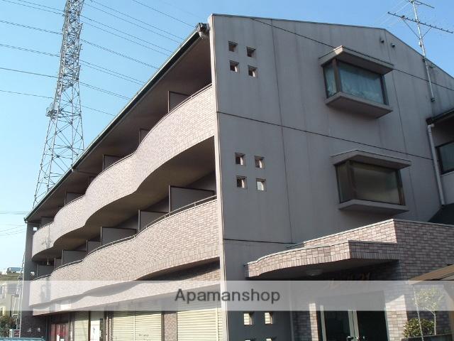 大阪府堺市中区、深井駅徒歩10分の築21年 3階建の賃貸マンション