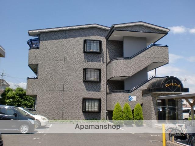 大阪府堺市東区、初芝駅徒歩15分の築18年 3階建の賃貸マンション