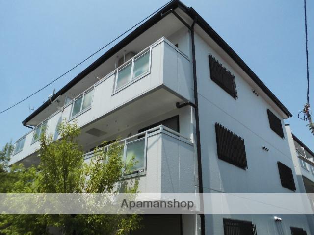 大阪府高石市、鳳駅徒歩20分の築21年 3階建の賃貸マンション