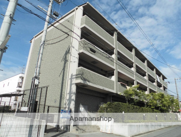 大阪府堺市堺区、百舌鳥駅徒歩20分の築10年 4階建の賃貸マンション