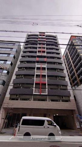 大阪府大阪市中央区、本町駅徒歩7分の築4年 14階建の賃貸マンション