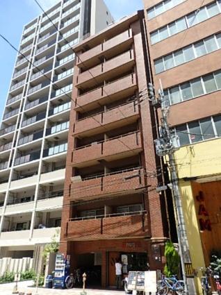大阪府大阪市西区、四ツ橋駅徒歩8分の築28年 11階建の賃貸マンション