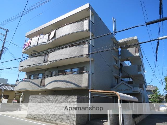 大阪府堺市北区、百舌鳥駅徒歩16分の築19年 4階建の賃貸マンション