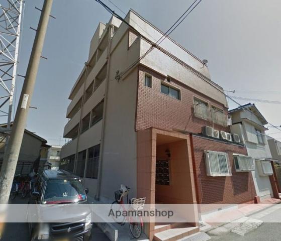 大阪府堺市堺区、浅香駅徒歩5分の築43年 4階建の賃貸マンション