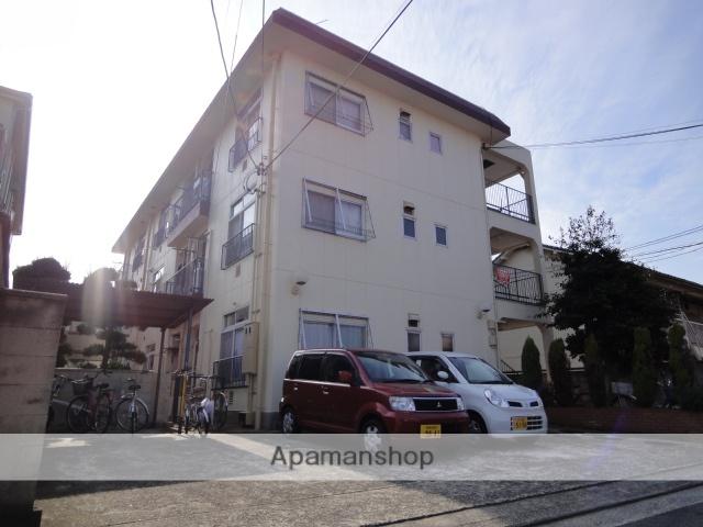 大阪府堺市北区、百舌鳥駅徒歩7分の築30年 3階建の賃貸マンション