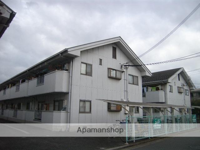 大阪府堺市北区、百舌鳥駅徒歩10分の築27年 2階建の賃貸アパート