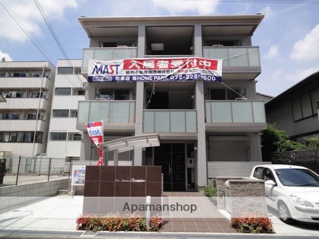 大阪府堺市堺区、堺駅徒歩20分の築3年 3階建の賃貸マンション