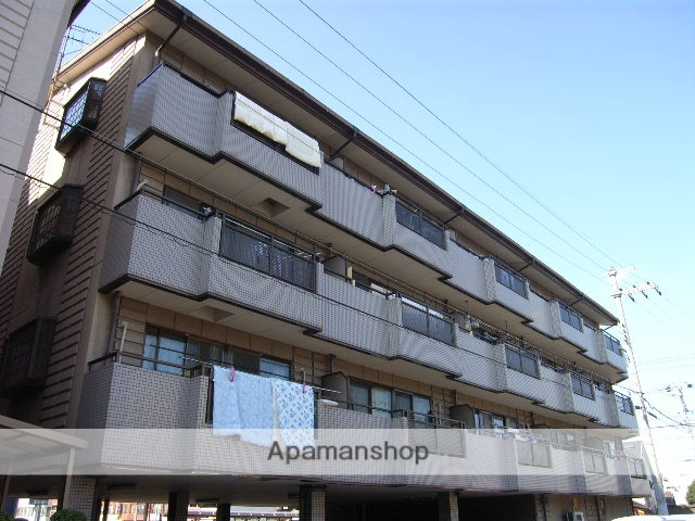 大阪府堺市堺区、百舌鳥駅徒歩18分の築24年 4階建の賃貸マンション