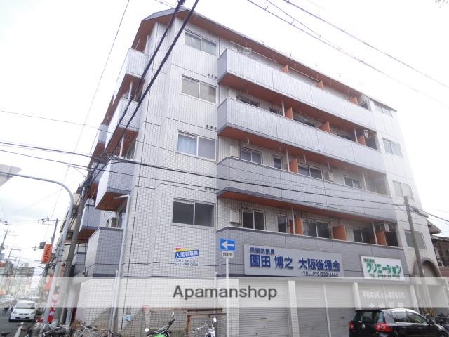 大阪府堺市堺区、堺駅徒歩7分の築27年 5階建の賃貸マンション