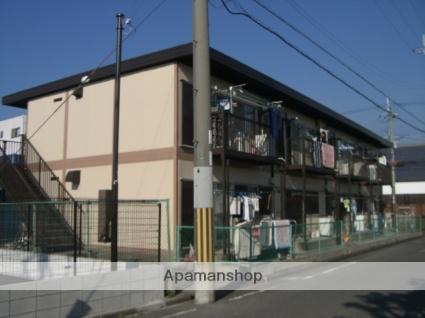 大阪府堺市西区、津久野駅徒歩12分の築38年 2階建の賃貸アパート