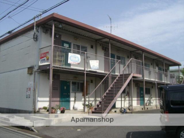 大阪府堺市中区、鳳駅徒歩42分の築37年 2階建の賃貸アパート
