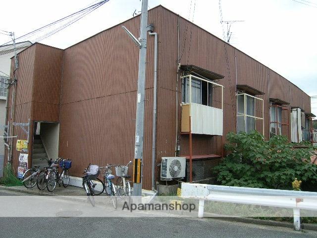 大阪府堺市西区、百舌鳥駅徒歩8分の築46年 2階建の賃貸アパート