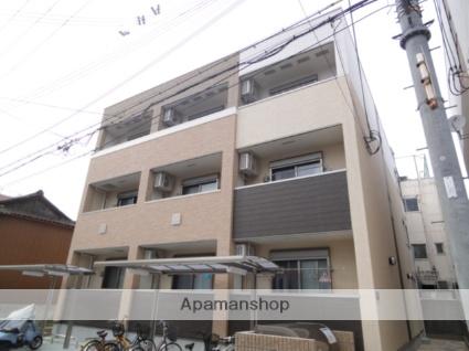 大阪府堺市西区、石津川駅徒歩2分の築2年 3階建の賃貸アパート