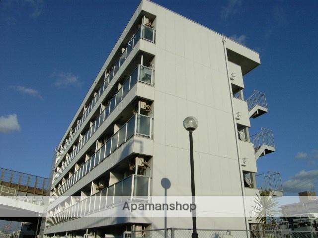 大阪府高石市、北信太駅徒歩10分の築25年 5階建の賃貸マンション