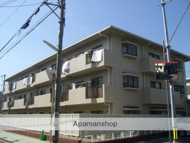 大阪府堺市西区、石津川駅徒歩15分の築29年 3階建の賃貸マンション