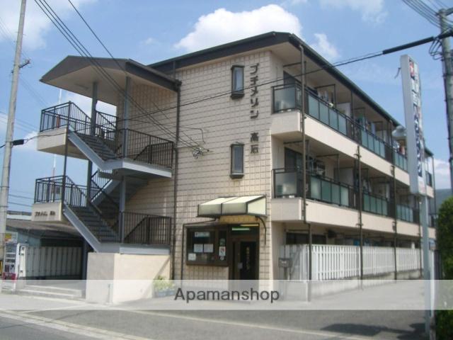 大阪府高石市、富木駅徒歩10分の築28年 3階建の賃貸マンション