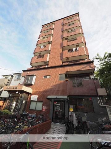 大阪府大阪市東成区、鶴橋駅徒歩9分の築28年 8階建の賃貸マンション