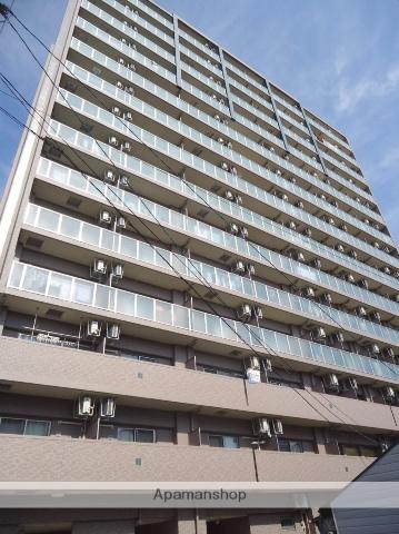 大阪府大阪市東成区、森ノ宮駅徒歩6分の築5年 14階建の賃貸マンション