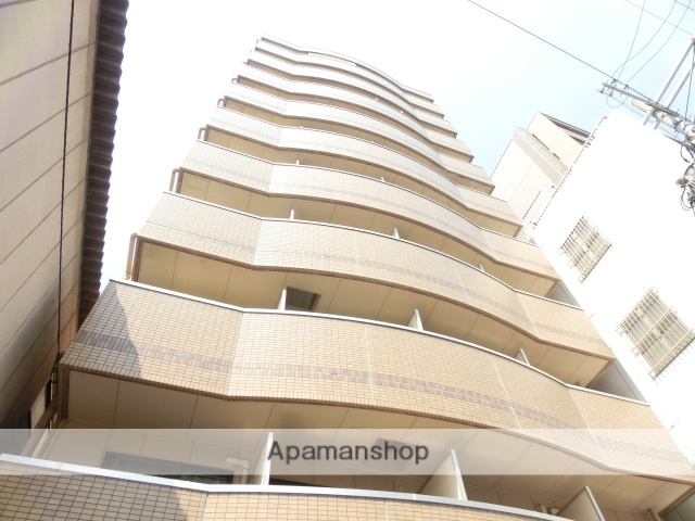 大阪府大阪市中央区、天満橋駅徒歩7分の築19年 10階建の賃貸マンション