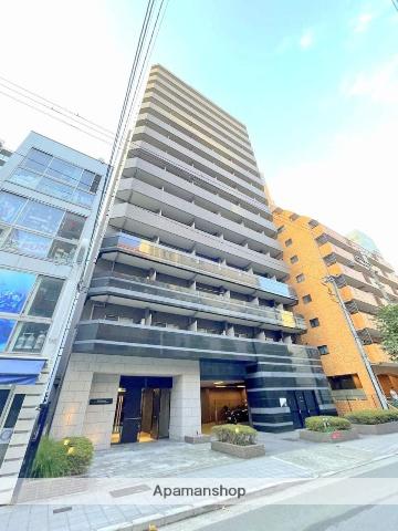 大阪府大阪市中央区、天満橋駅徒歩7分の築9年 15階建の賃貸マンション