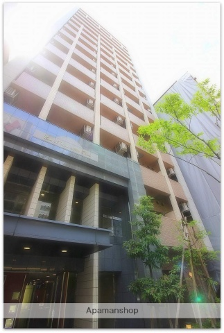 大阪府大阪市中央区、堺筋本町駅徒歩5分の築8年 15階建の賃貸マンション
