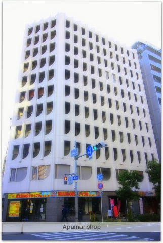 大阪府大阪市中央区、天満橋駅徒歩8分の築30年 11階建の賃貸マンション