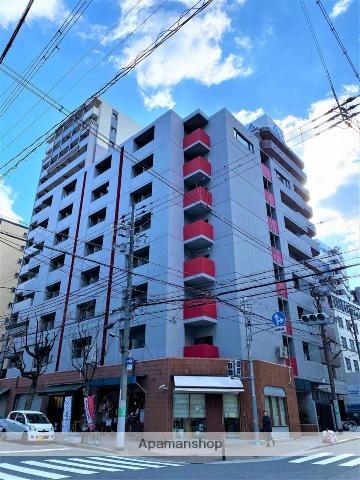 大阪府大阪市中央区、天満橋駅徒歩5分の築36年 8階建の賃貸マンション
