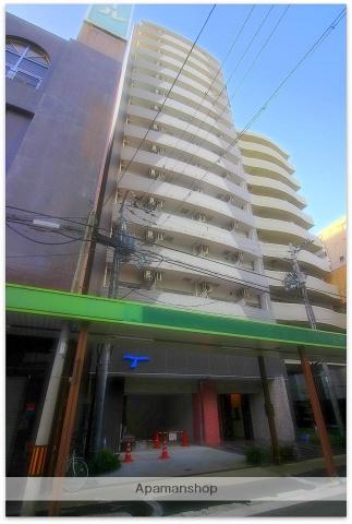 大阪府大阪市中央区、心斎橋駅徒歩9分の築3年 15階建の賃貸マンション