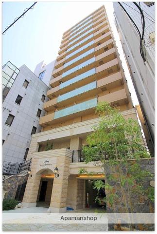 大阪府大阪市中央区、堺筋本町駅徒歩5分の築1年 14階建の賃貸マンション