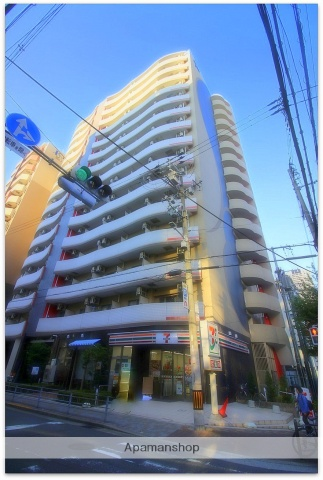 大阪府大阪市中央区、なにわ橋駅徒歩11分の築2年 15階建の賃貸マンション