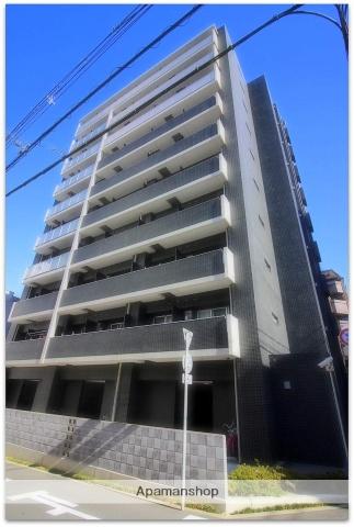 大阪府大阪市中央区、谷町六丁目駅徒歩9分の築1年 10階建の賃貸マンション