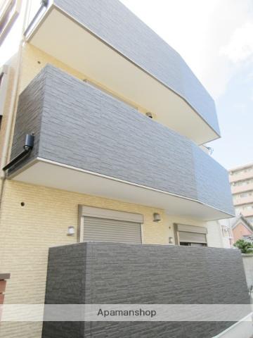 大阪府大阪市鶴見区、蒲生四丁目駅徒歩18分の新築 3階建の賃貸アパート