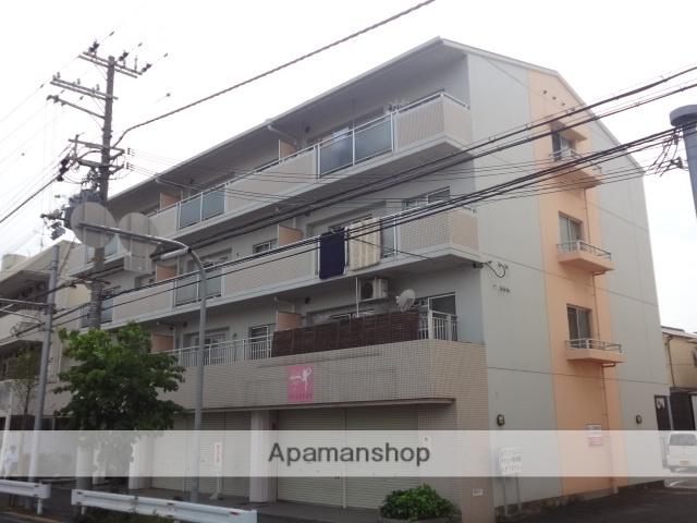 大阪府高石市、東羽衣駅徒歩7分の築25年 4階建の賃貸マンション