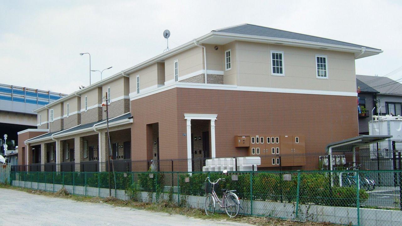 大阪府高石市、高石駅徒歩13分の築12年 2階建の賃貸アパート