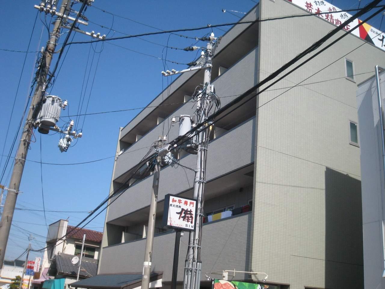大阪府高石市、高石駅徒歩9分の築15年 4階建の賃貸マンション