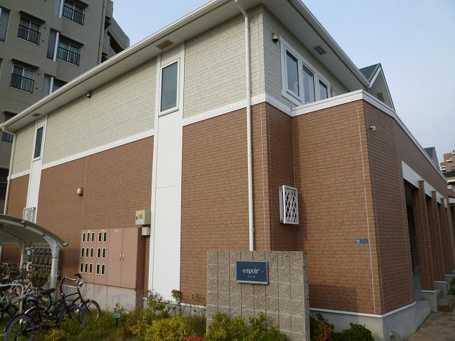 大阪府泉大津市、北助松駅徒歩9分の築9年 2階建の賃貸アパート