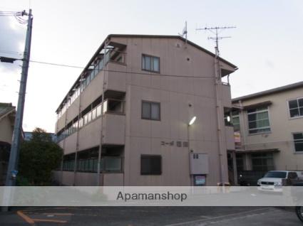 大阪府貝塚市、東貝塚駅徒歩9分の築21年 3階建の賃貸マンション