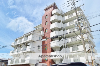 大阪府貝塚市、貝塚駅徒歩6分の築27年 7階建の賃貸マンション
