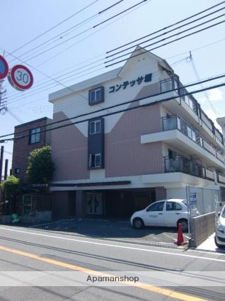 大阪府貝塚市、蛸地蔵駅徒歩14分の築23年 4階建の賃貸マンション