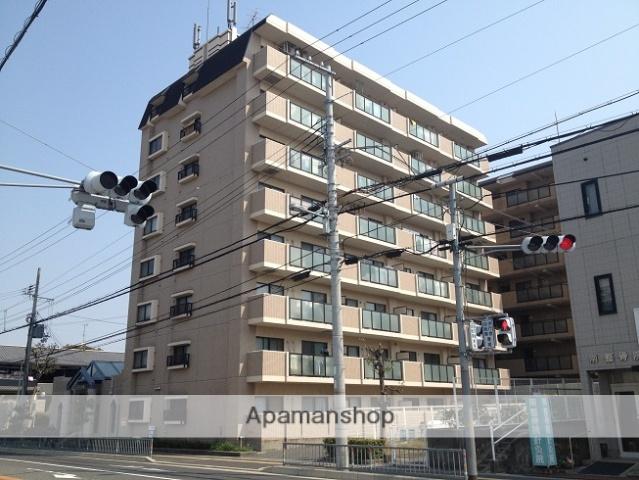 大阪府貝塚市、貝塚駅徒歩5分の築25年 8階建の賃貸マンション