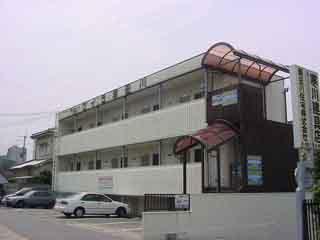 大阪府貝塚市、東岸和田駅徒歩11分の築26年 2階建の賃貸アパート