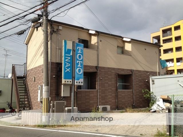 大阪府泉南郡熊取町、熊取駅南海バスバス14分小垣内バス停下車後徒歩2分の築10年 2階建の賃貸アパート