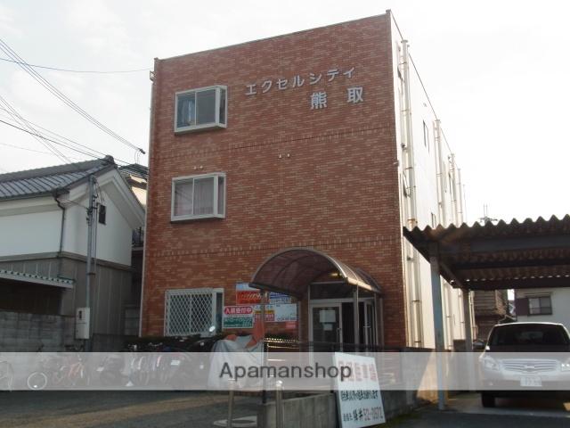 大阪府泉南郡熊取町、熊取駅徒歩7分の築36年 3階建の賃貸マンション