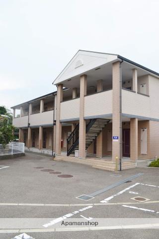 大阪府泉南市、新家駅徒歩8分の築13年 2階建の賃貸アパート