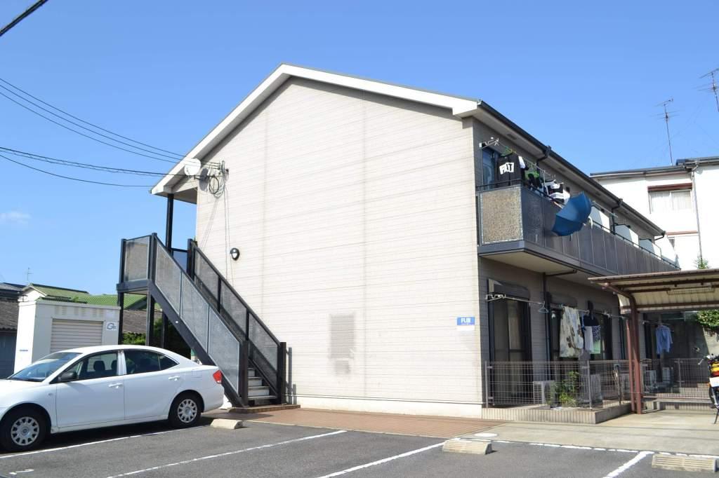 大阪府貝塚市、岸和田駅徒歩16分の築10年 2階建の賃貸アパート