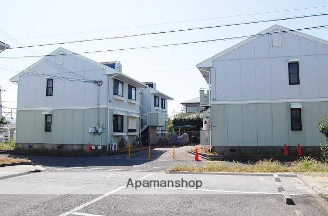 大阪府泉佐野市、二色浜駅徒歩17分の築22年 2階建の賃貸アパート