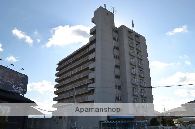 大阪府貝塚市、二色浜駅徒歩10分の築18年 10階建の賃貸マンション
