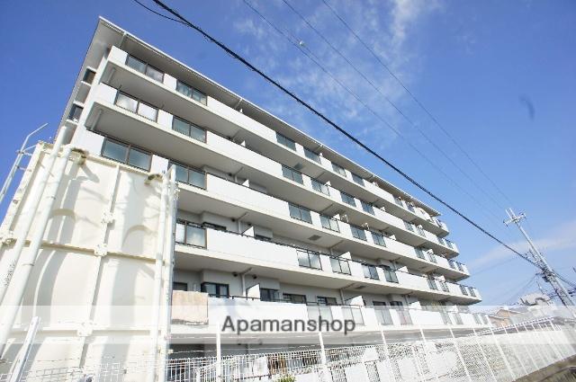 大阪府貝塚市、東貝塚駅徒歩12分の築23年 6階建の賃貸マンション